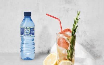 Prepara combinados deliciosos con agua mineral